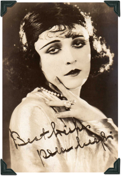 Theda Bara Blog - Pola Negri photo